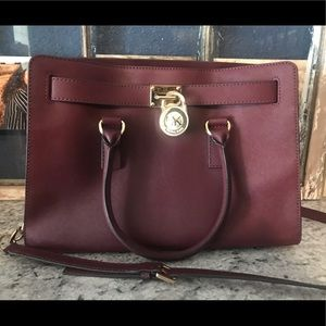 Michael Kors Burgundy Bag